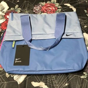 NWT NIKE RADIATE 20L PINK BLUE SHOULDER MISC BAG